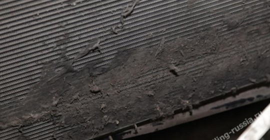 чистка радиатора паром без разбора