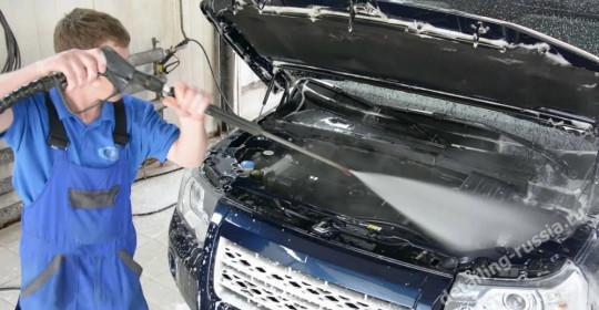 Высококачественная мойка двигателя от авто-Студии детейлинга «AUTO RELAX»