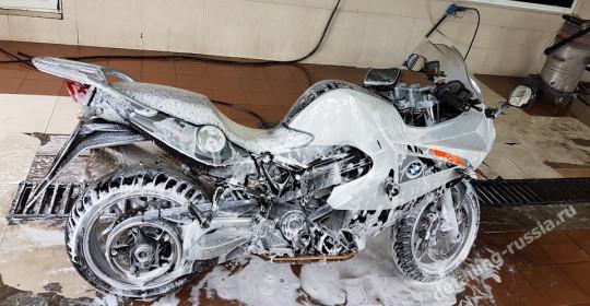мойка мотоцикла в москве