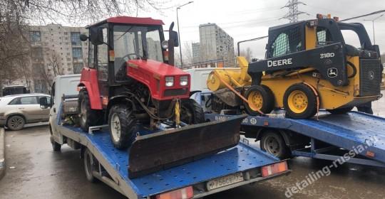 эвакуация спецтехники в москве