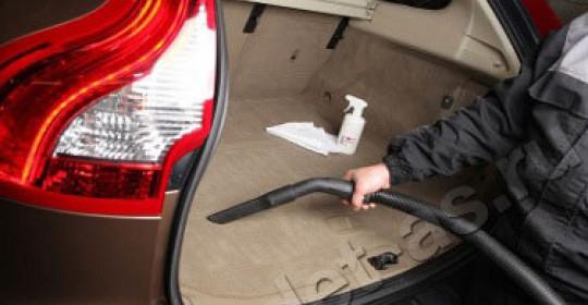 Химчистка багажника