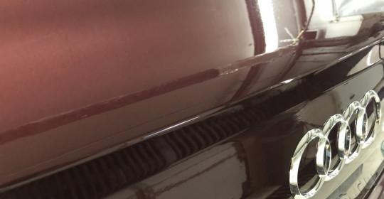 Полировка кузова Audi Q7 и нанесение керамики Ultra One Top