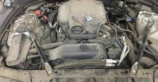Мойка двигателя с использованием консерванта