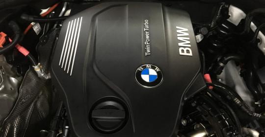 Мойка двигателя BMW