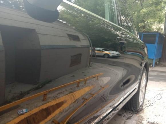 Полировка кузова Volkswagen Touareg