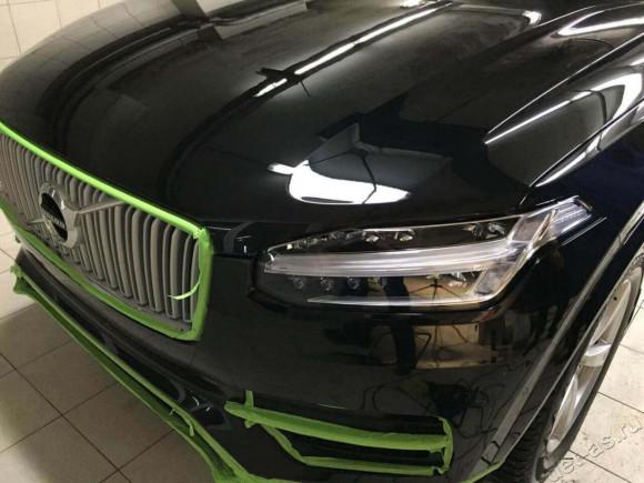 Volvo - Полировка в 3 шага + Жидкое стекло ФОТО ПОСЛЕ