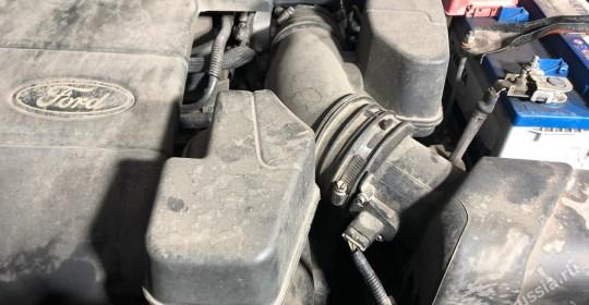 Мойка двигателя паром форд