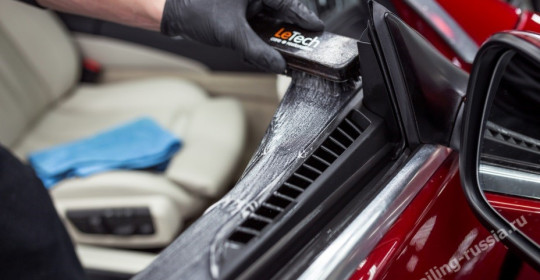 Сколько стоит химчистка автомобиля в Москве