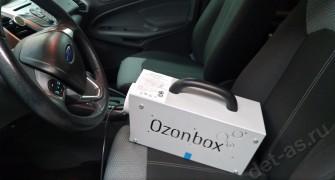 Удаление запахов в салоне автомобиля с помощью озонации