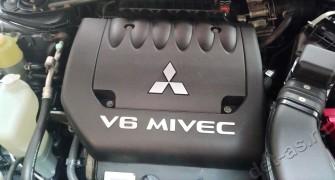 Мойка двигателя Mitsubishi Outlander паром с консервацией