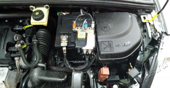 Мойка двигателя Peugeot 308 паром с консервацией