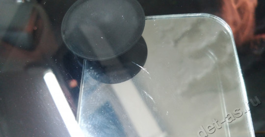 Ремонт скола лобового стекла на автомобиле JEEP RENEGADE