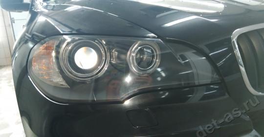 Полировка фар BMW X5