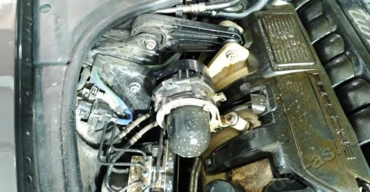 Мойка двигателя паром Porsche Panamera