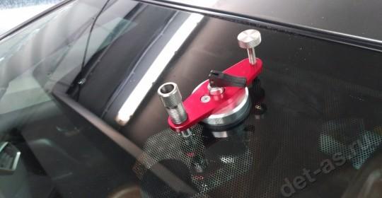 Ремонт скола лобового стекла Nissan Murano