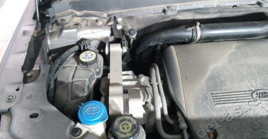 Мойка двигателя Land Rover паром c консервацией