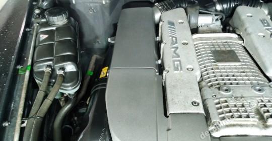 Мойка двигателя паром с консервацией