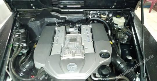 Чистый двигатель с использованием пара