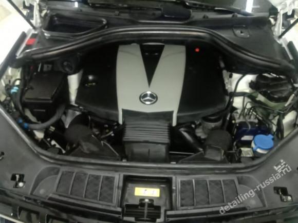 безопасная мойка двигателя Mercedes-Benz E-Класс