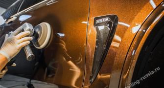 Полировка автомобиля – надежная защита и блеск