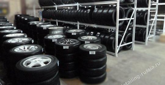 сезонное хранение шин и дисков