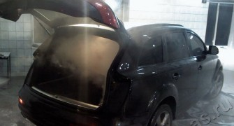 Удаление запахов в автомобиле на Вднх